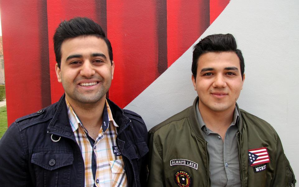 fa80a56a3685 Bröderna Abdullaziz Almazrli och Abdo Almazerli från Syrien har blivit  antagna till satsningen Ung Drive.