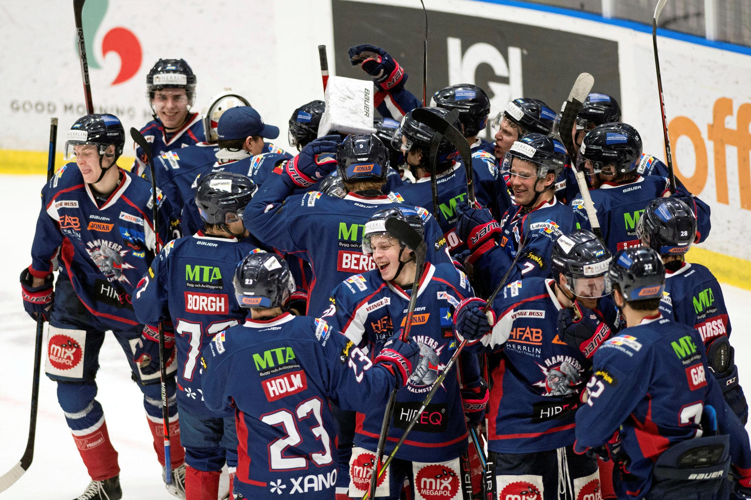 """Hammers gjorde det """"omöjliga"""" – klart för Hockeyettan-final mot Väsby"""