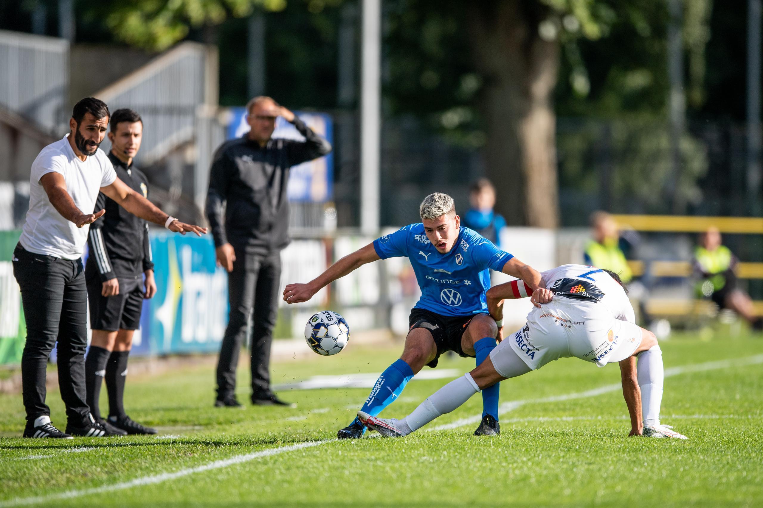 3-0 vinst för HBK mot Norrby