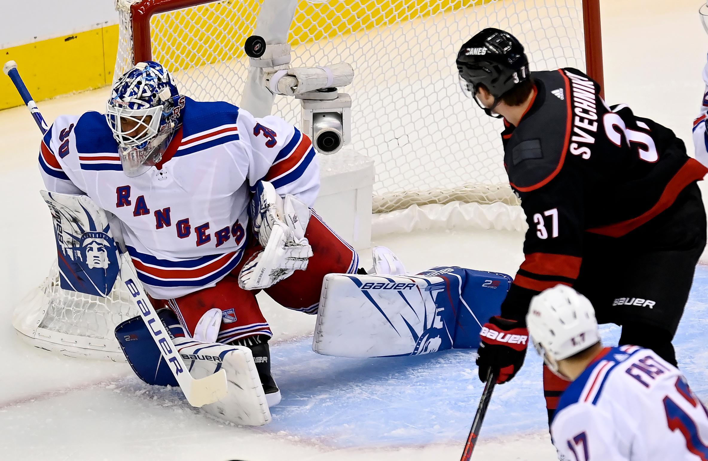 Rangers föll trots Lundqvists storspel