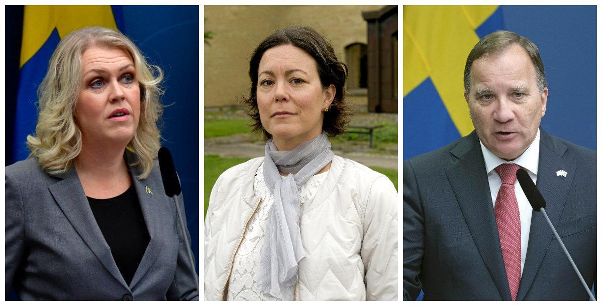 Hallands smittskyddsläkare lyfte provtagningsproblem med ministrarna