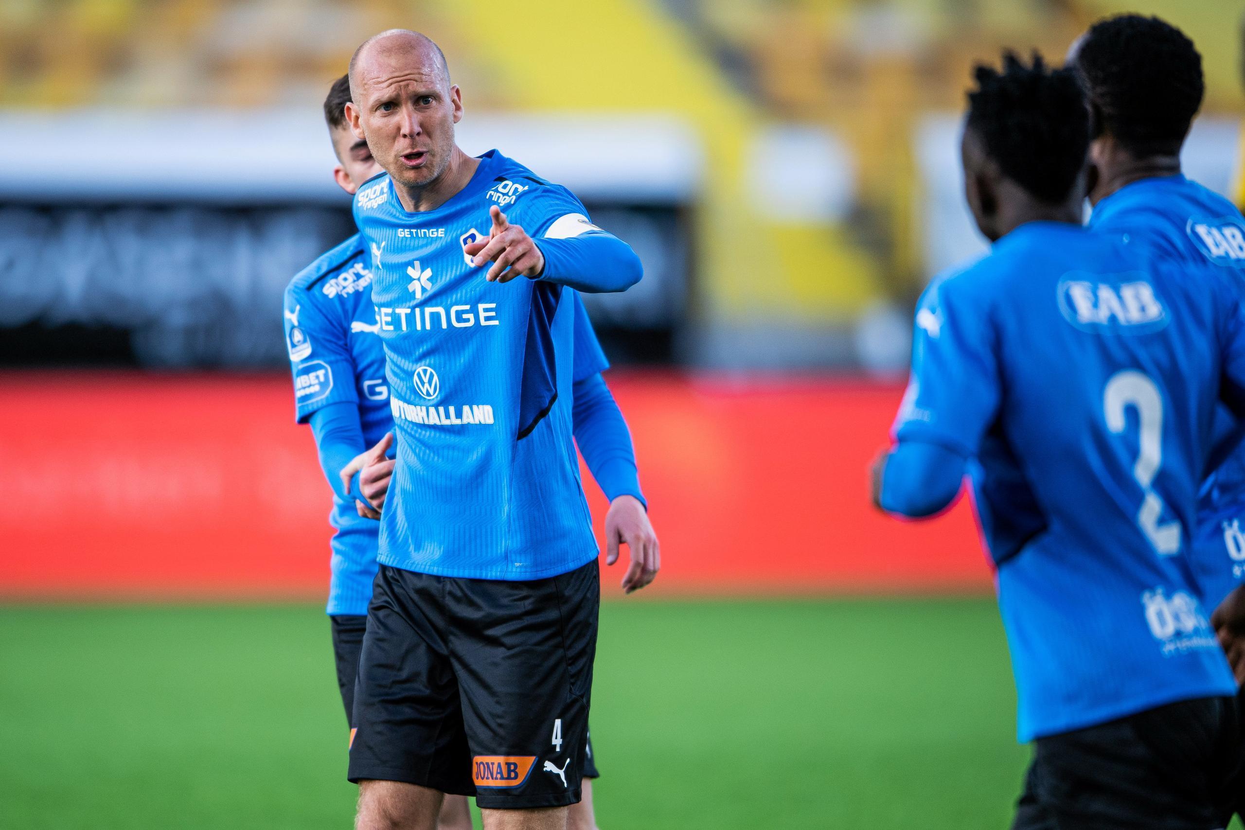 Andreas Johansson förlänger med HBK – efter rekordsnabb förhandling